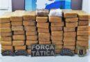 Polícia Militar apreende 59 tabletes de maconha em Simplício Mendes